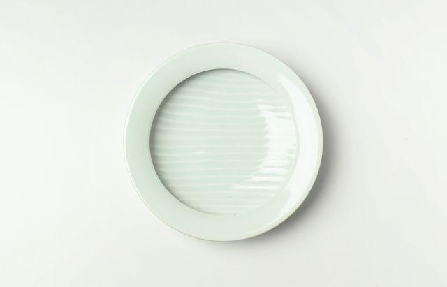 大沢和義 白磁カレー皿(小)
