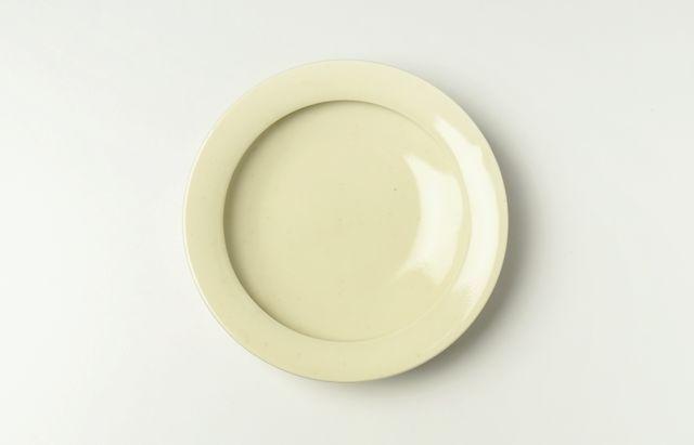 大沢和義 黄磁カレー皿(小)