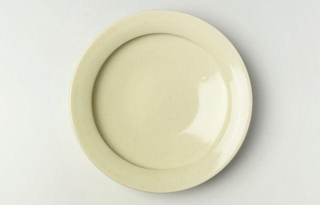 大沢和義 黄磁カレー皿(大)