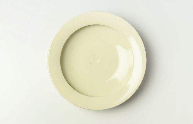 大沢和義 黄磁カレー皿(中)