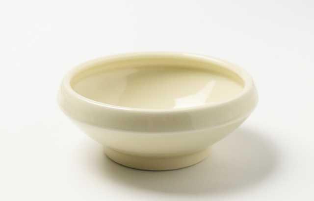 大沢和義 黄磁折縁中碗