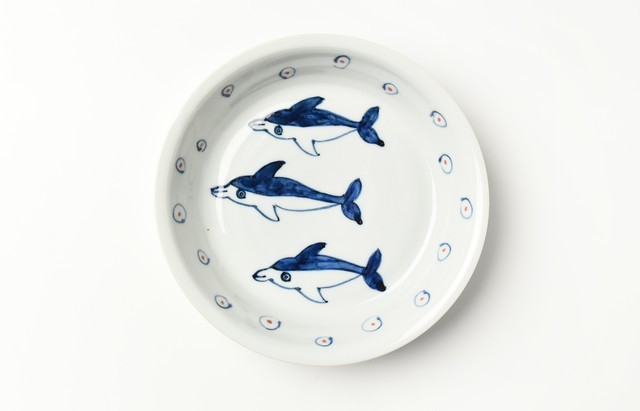 林京子 まるプレート イルカの友達