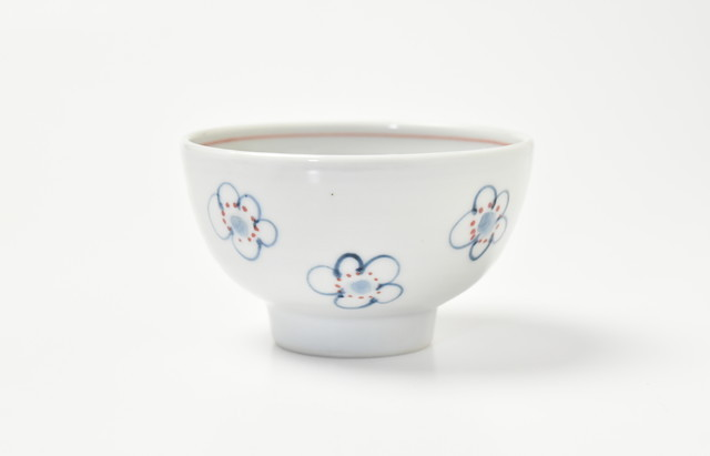 林京子 ごはん茶碗 お花