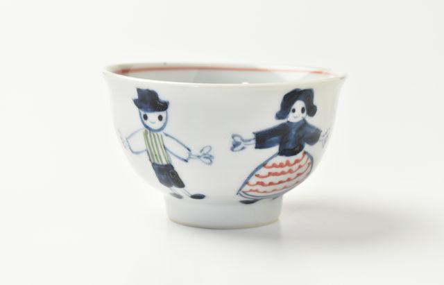 林京子 ごはん茶碗 アルプス一万尺