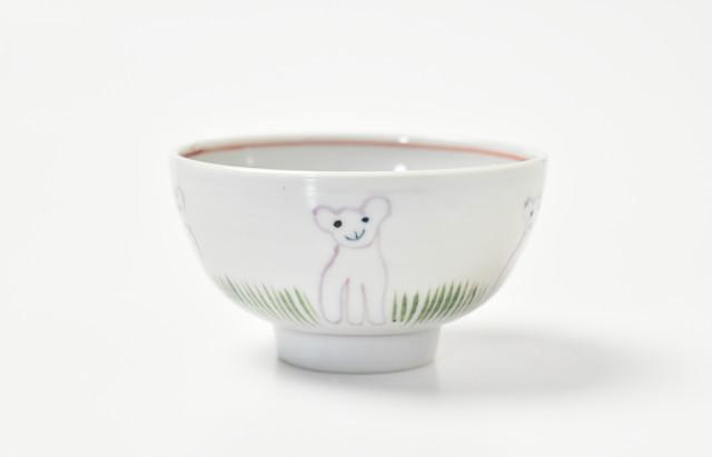 林京子 メイのご飯茶碗