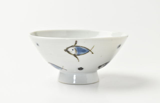 林京子 ごはん茶碗 海のおさんぽ