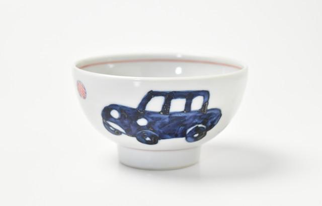 林京子 ごはん茶碗 車