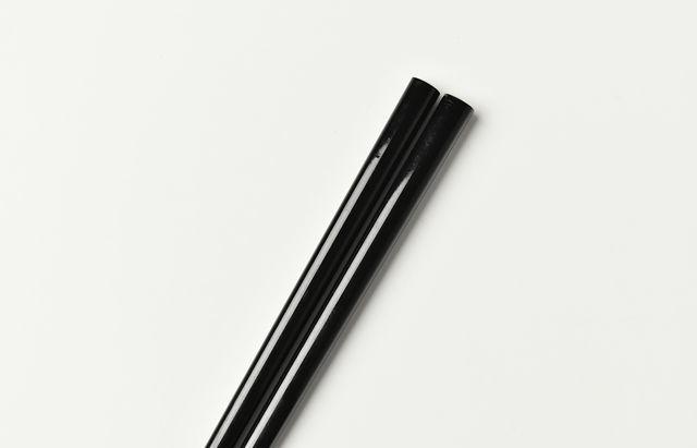 花田 子供箸 黒