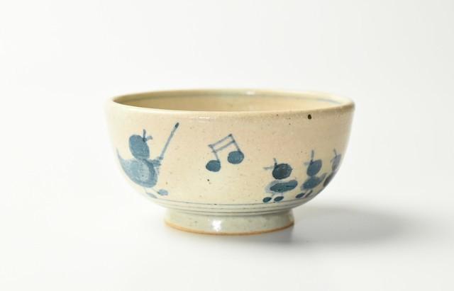 小川佳子 ご飯茶碗(とりの学校)