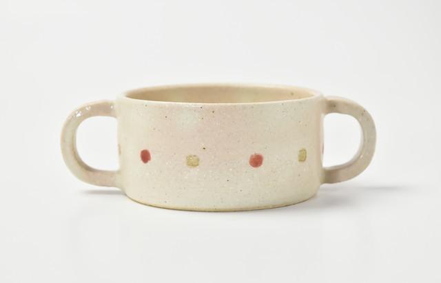 小川佳子 スープカップ さくらんぼ(赤)