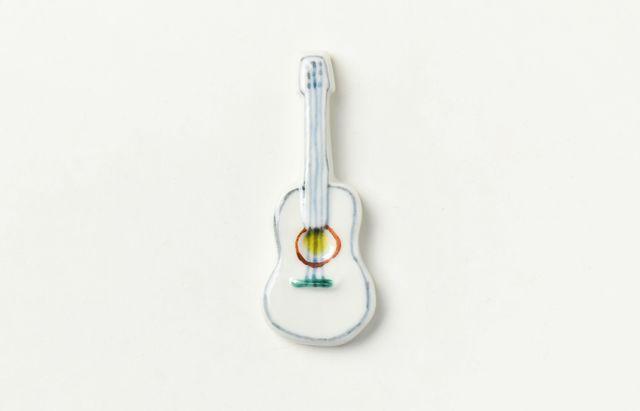 重田良古 箸置 アコースティックギター
