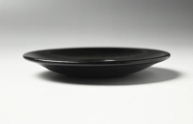 花田 茶托4.2黒メハジキ(5枚揃)【H】