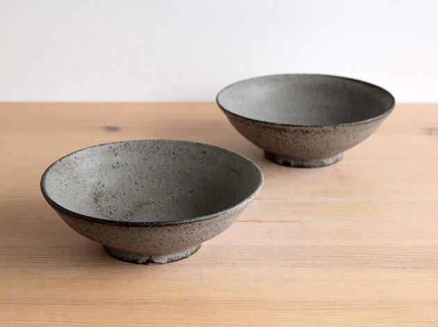 深田容子 灰釉鉢