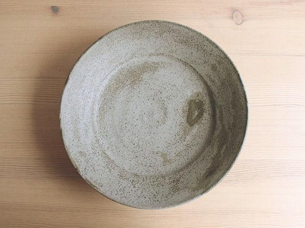 深田容子 灰釉浅鉢