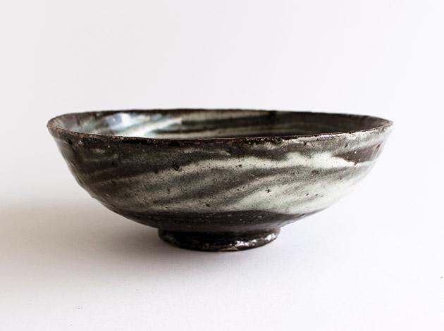 八田亨 刷毛目6.5寸鉢
