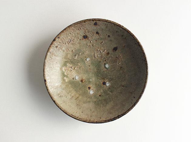 長野大輔 木灰釉6寸鉢