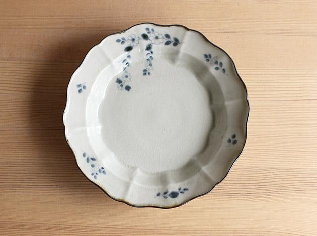 志村和晃 マジョリカ7.5寸皿