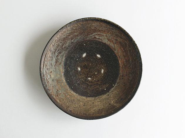 高田谷将宏 三島7寸皿