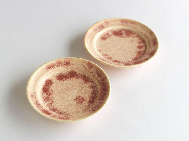 梅本勇 4.5寸リム皿
