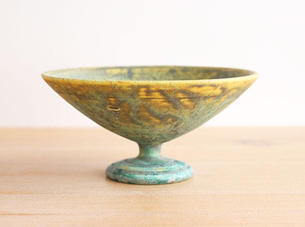 梅本勇 台付4.5寸鉢