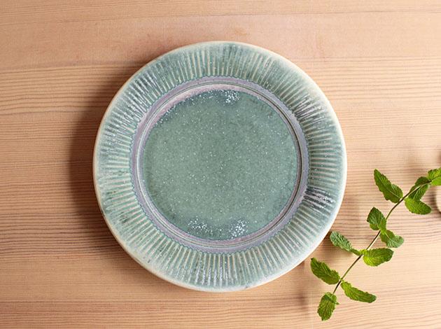 梅本勇 7寸しのぎ皿