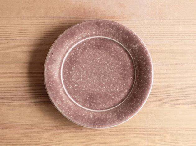 梅本勇 7寸リム皿