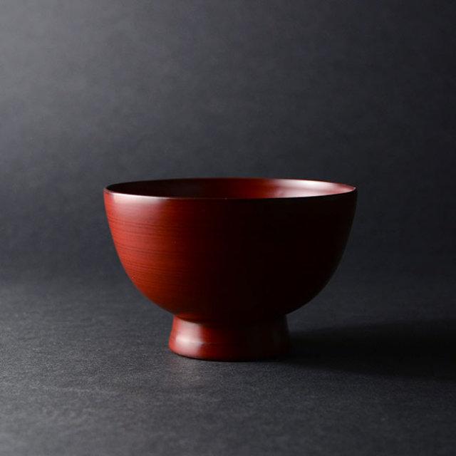 漆器 能登飯碗(赤) 作家「赤木明登」