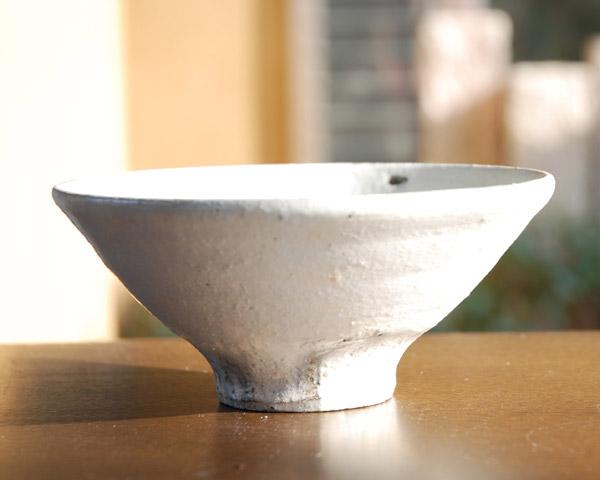和食器 粉引飯碗(小) 作家「吉岡萬理」