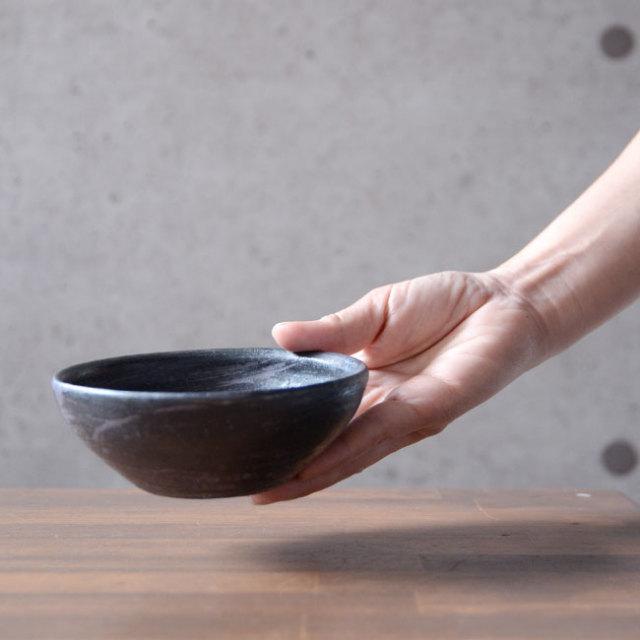 和食器 鉄彩丸鉢(小) 作家「吉岡萬理」