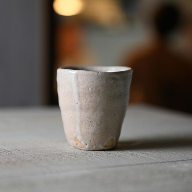 和食器 長石釉コップ 作家「吉岡萬理」
