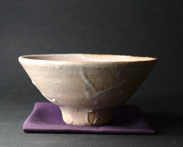 井戸茶碗 作家「吉岡萬理」木箱付