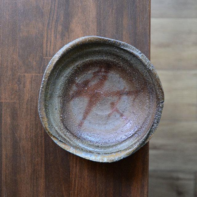 備前焼五寸皿(CR-020) 作家「クリストファーレイヴェンホール」