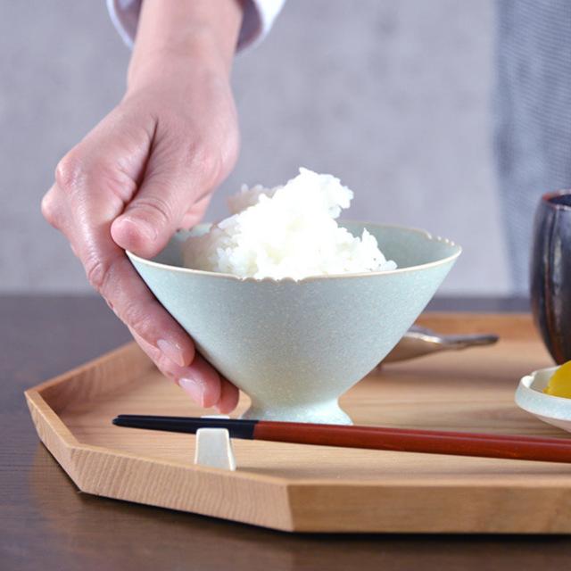 和食器 流翠結晶飯碗  作家「中村譲司」