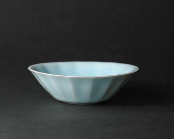 青白磁小鉢  作家「市川博一」
