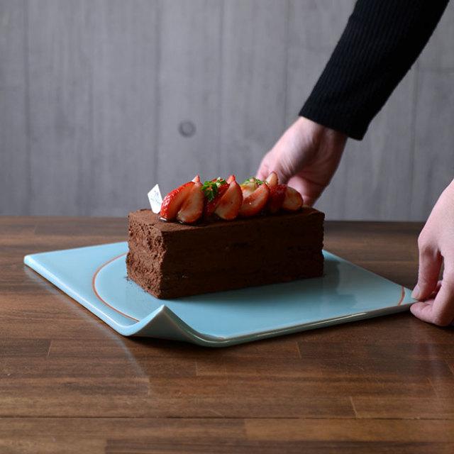 和食器 青白磁Square Plate 作家「市川博一」