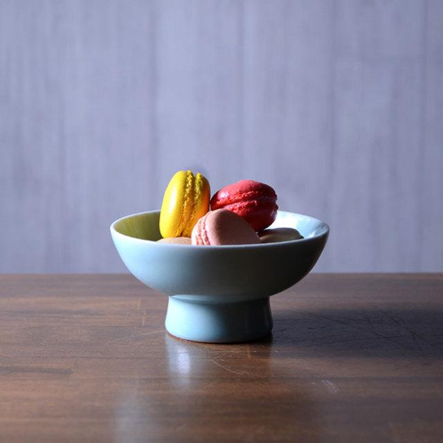 和食器 青白磁鉢 作家「市川博一」
