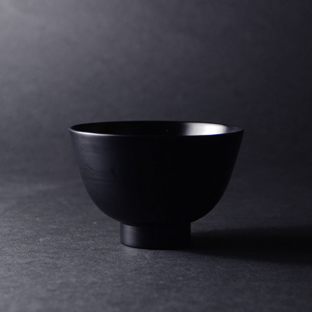 漆器 小椀(黒) 作家「角好司」