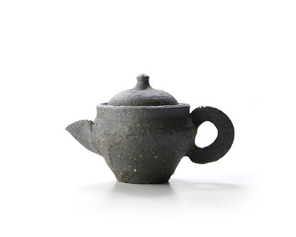 焼締小茶器