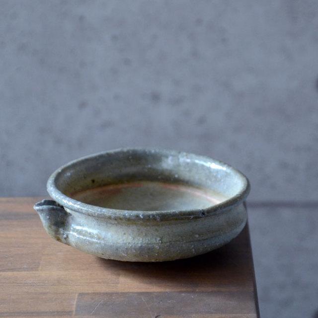 和食器 塩釉玉縁片口鉢 作家「荒木漢一」