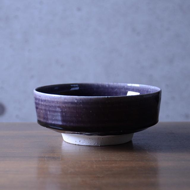 和食器 紫明釉切立鉢 作家「荒木漢一」