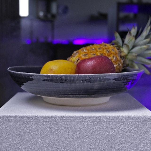 紫明釉尺皿作家「荒木漢一」