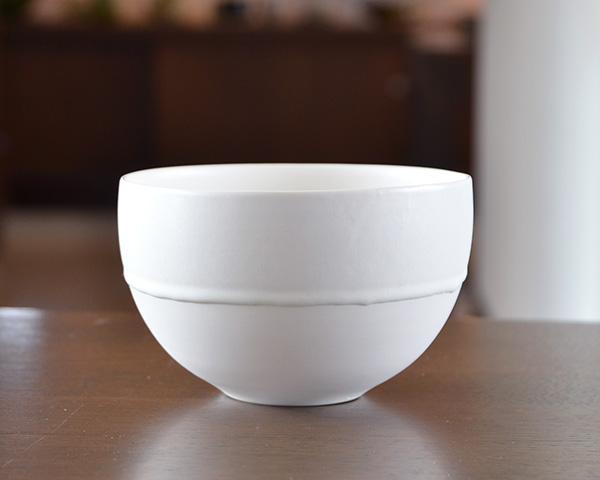 白磁 Flower Bowl (M) 作家「竹内紘三」