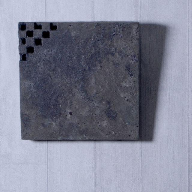 黒土花器(K) 作家「竹内紘三」