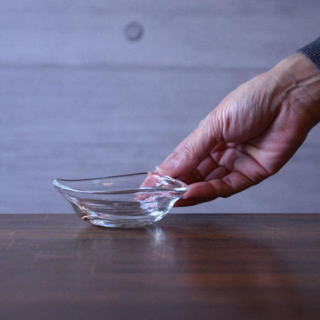 ガラス Wave豆鉢  作家「原光弘」