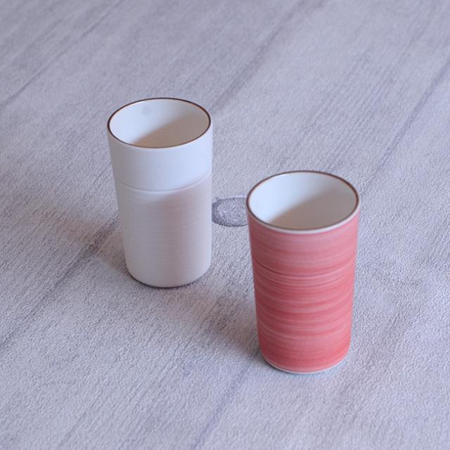 Membrane.series Cup 紅白揃 作家「田中雅文」