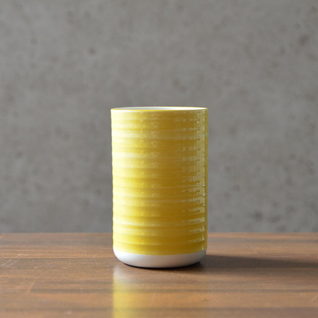 Your tumbler.(Yellow) 作家「田中雅文」