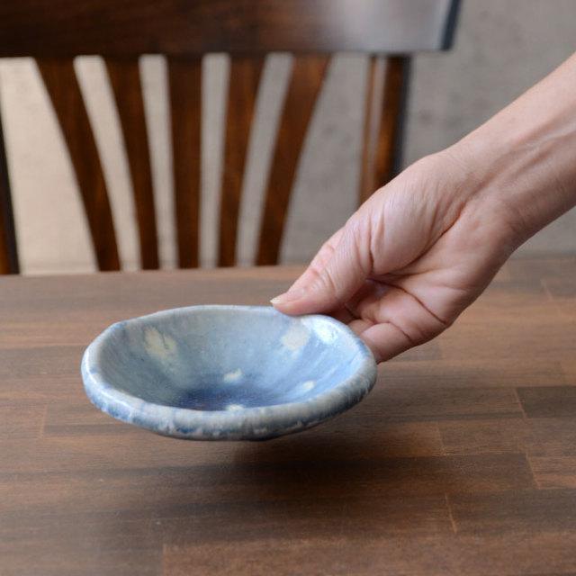 和食器 紺碧Lake Plate(S) 作家「山本雅彦」