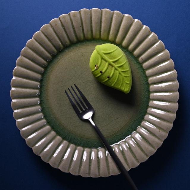 和食器釉輪花大皿作家「山本雅彦」