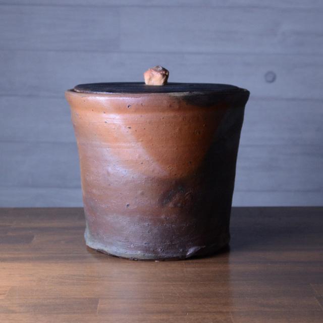 和食器 南蛮鬼桶水指 (共箱付) 作家「川淵直樹」