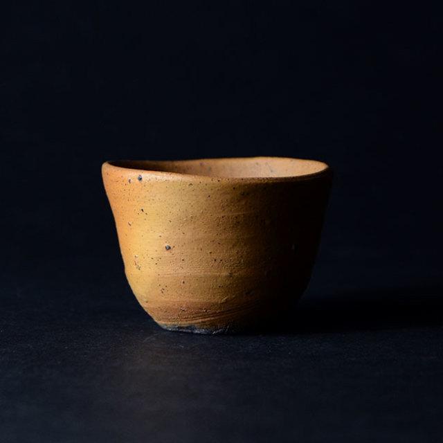 和食器 南蛮酒盃 (共箱付no.17) 作家「川淵直樹」